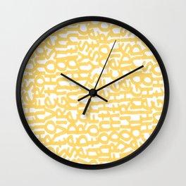 Chasin' Gold Wall Clock