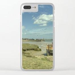 Orford old Boat Clear iPhone Case