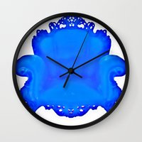 baroque Wall Clocks featuring Baroque  by Xchange Art Studio