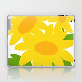 Yellow Green Good Cheer Laptop & iPad Skin