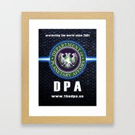 DPA est. 2001 Framed Art Print
