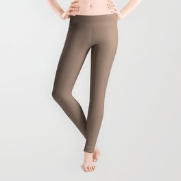 PANTONE 16-1318 Warm Taupe Leggings