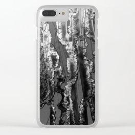 Jello-Monochrome Clear iPhone Case