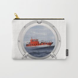 Port Hole View Carry-All Pouch