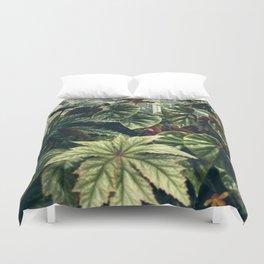 Beautiful Begonias Duvet Cover