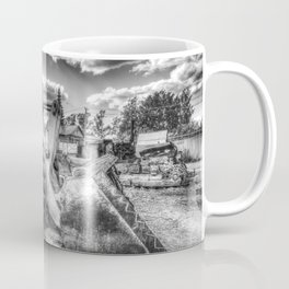 Bulldozer Machine from Earth Coffee Mug