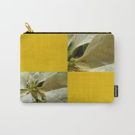 Pale Yellow Poinsettia 1 Blank Q7F0 Carry-All Pouch