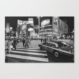 Shibuya Crossing III Canvas Print
