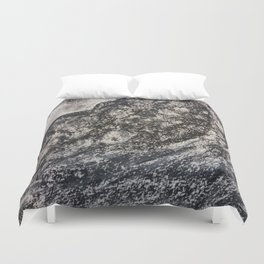 Grey Moutain by Gerlinde Streit Duvet Cover