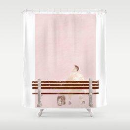 Forrest Gump Movie Poster Shower Curtain