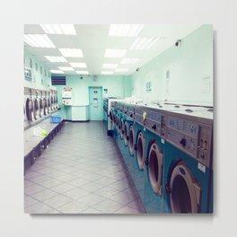 Laundry Store Metal Print