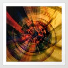 Vortex 4 Art Print