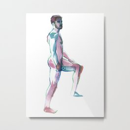 MATT, Nude Male by Frank-Joseph Metal Print