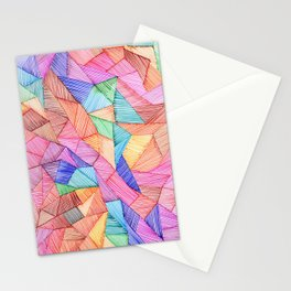 Shattered Patches Stationery Cards