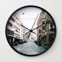 Derailed | Munich, Germany Wall Clock
