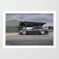 honda Art Prints featuring Honda S2000 by 1013MM