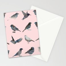 Sparrow Catalog Pink Stationery Cards