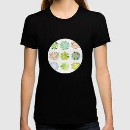 Spring Succulents T-shirt