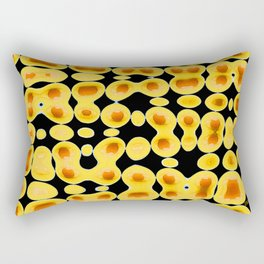 Playing With Eggs Rectangular Pillow