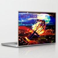 sagittarius Laptop & iPad Skins featuring Sagittarius by LBH Dezines