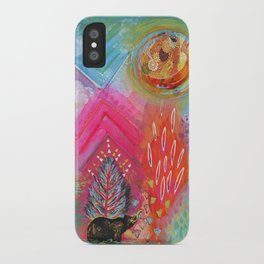 Bear Dreaming iPhone Case