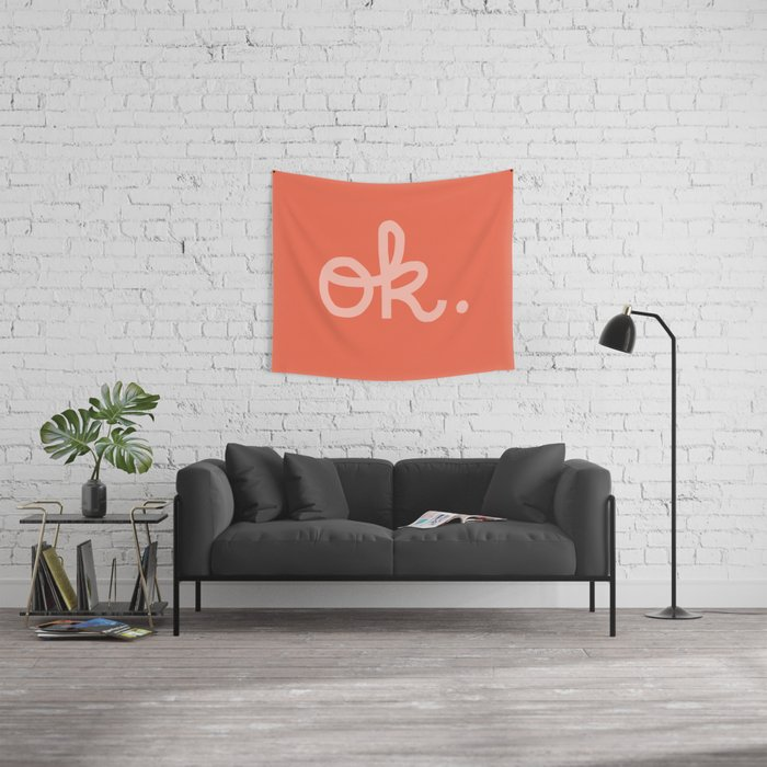 OK. Wall Tapestry