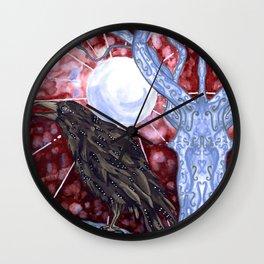 The Mirror Tree Wall Clock