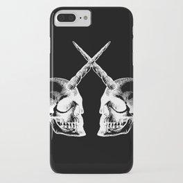 Unicorn Skulls 2 iPhone Case
