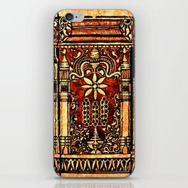 Bohemian Carvings iPhone Skin