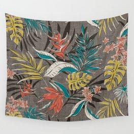 Bali Tropics - Cabana Wall Tapestry