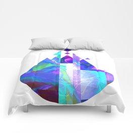Purple Castle Comforters