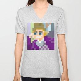 Gene Wilder Pixel Art Unisex V-Neck