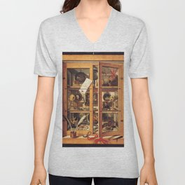 Cabinet of Curiosities Unisex V-Neck