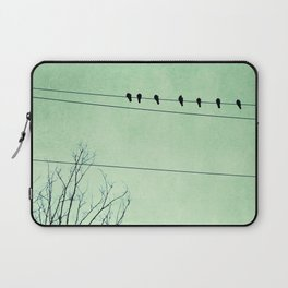 Birds on a Wire, no. 7 Laptop Sleeve