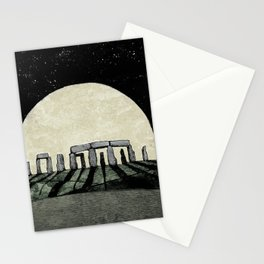 Rising Moon Stationery Cards