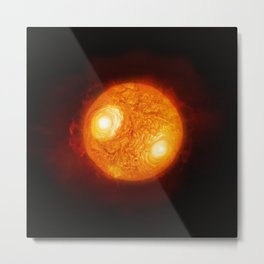 Fire Ball Metal Print