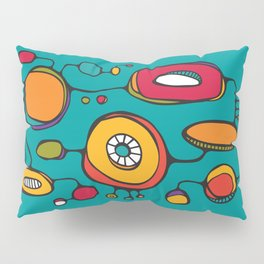 Scribbles 01 in Color Pillow Sham