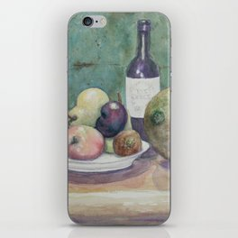 Cantaloupe Still Life WC150919a iPhone Skin