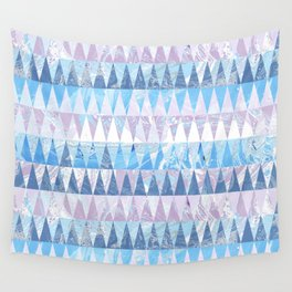 Geometric marble Wall Tapestry