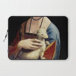The Lady with an Ermine - Leonardo da Vinci Laptop Sleeve