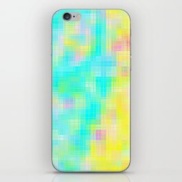 Re-Created Matrix No. 18 by Robert S. Lee iPhone Skin