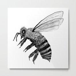 Amos Fortune Bee Metal Print