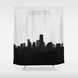 City Skylines: Jersey City Shower Curtain