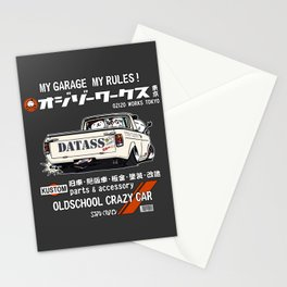 Crazy Car Art 0185 Stationery Cards