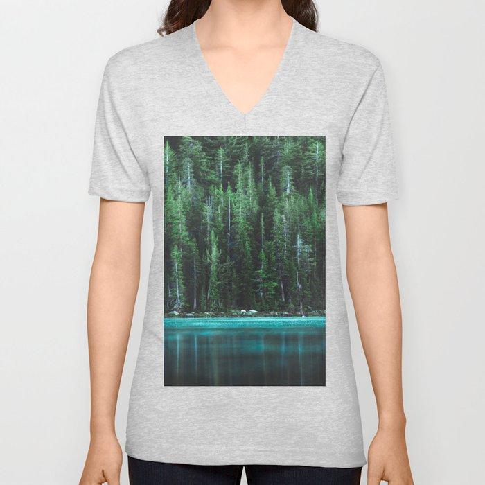Forest 3 Unisex V-Neck