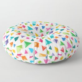 Paper Pyramid Floor Pillow