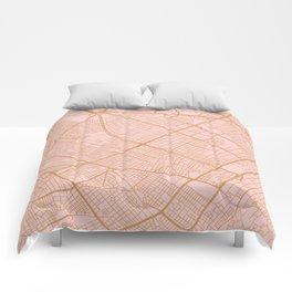 Bogota map Comforters