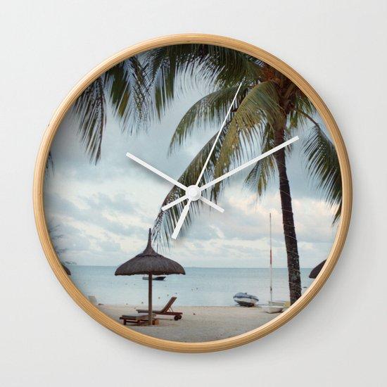Sunrise in Mauritius II Wall Clock