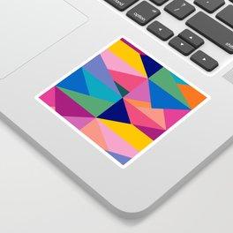 Geometric Color Block Sticker