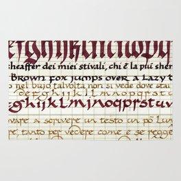 Calligraphy Rug